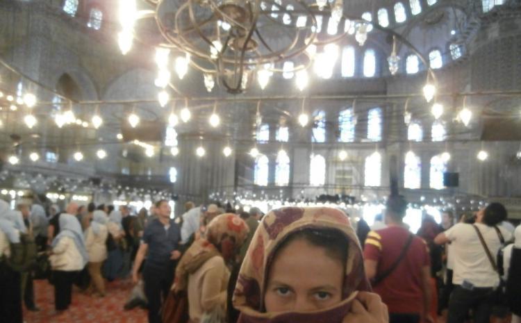 Heljda i Istanbul 2015 plava džamija