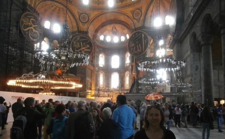 Heljda i Istanbul 2015 Aja Sofija