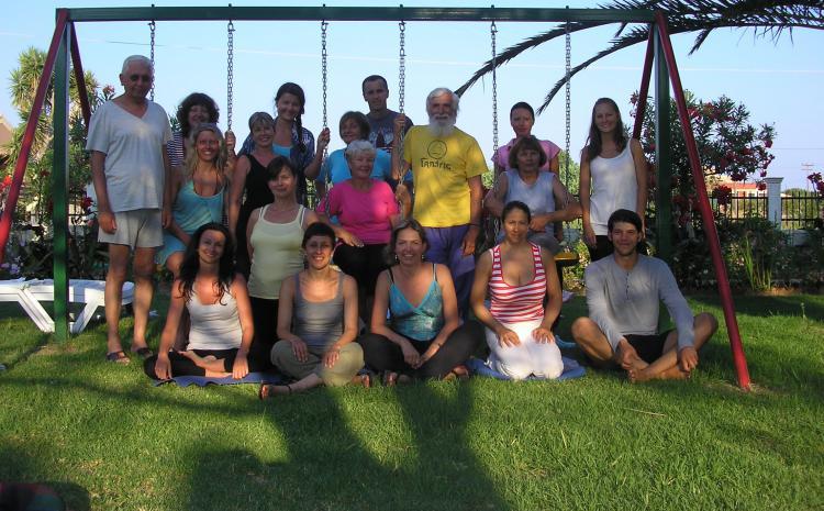 Heljda i Yoga na Krfu 2012