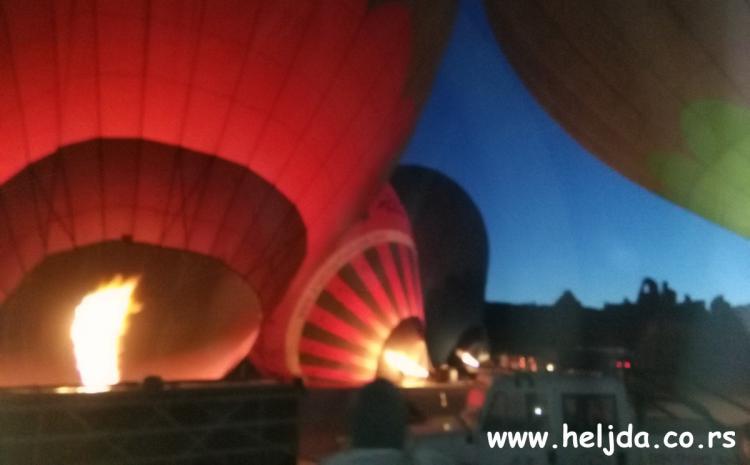 spremamo se za let balonima