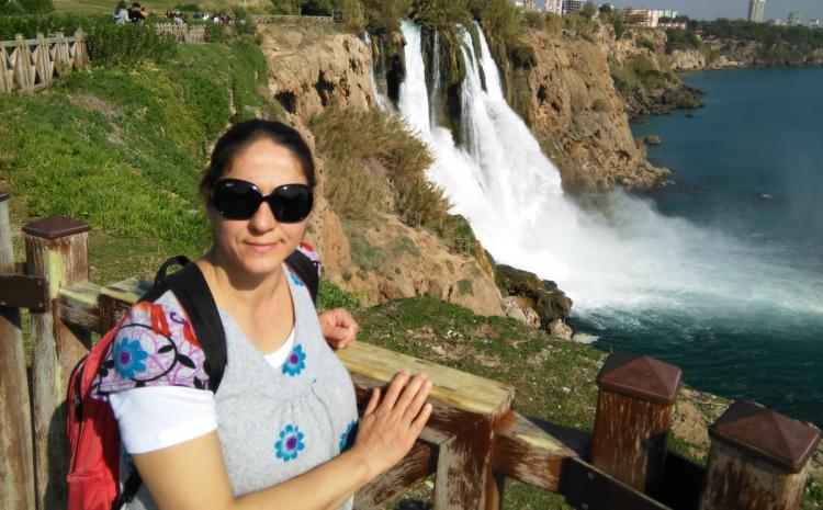 Antalija, Duden vodopad
