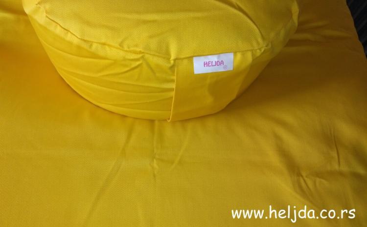 Jastuk zafu od heljde za meditaciju