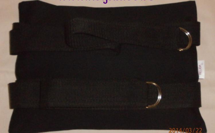 Jastuk za invalidska kolica naslon od heljde
