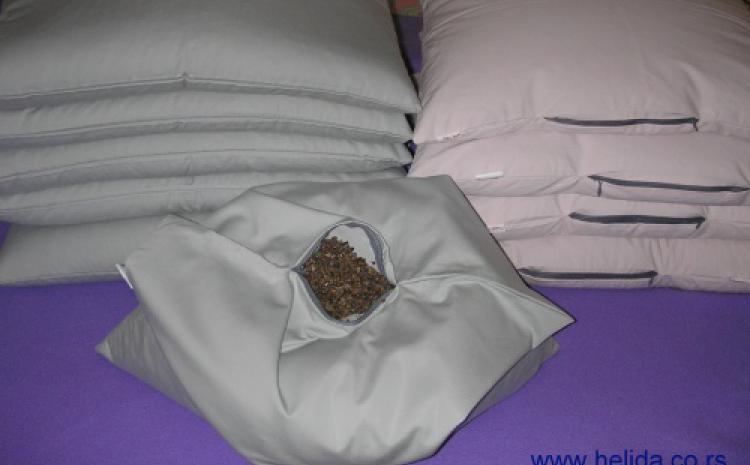 Anatomski, antialergiski jastuci punjeni najkvalitetnijim ljuspicama heljde