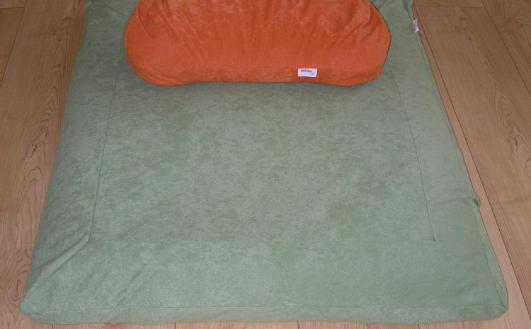 Prostirka i jastuk za meditaciju od heljde
