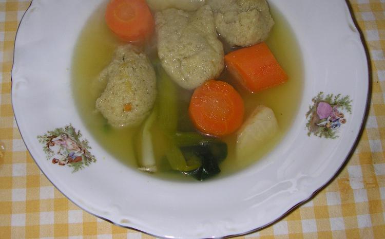 """Zdrava hrana """"Heljda-griz knedle u supi"""""""