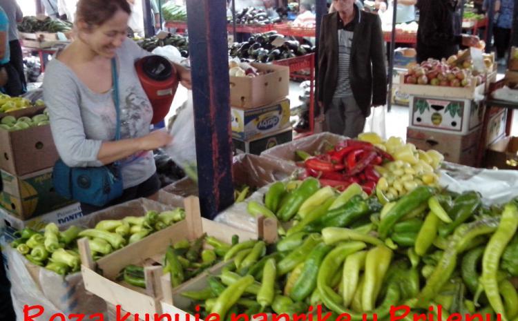 Kupovina paprike u Prilepu
