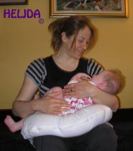 Trodelni jastuk za trudnice od heljde majka i beba