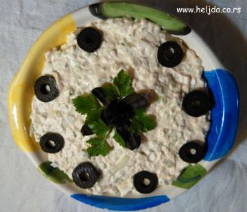 Blagicina brza salata od praziluka
