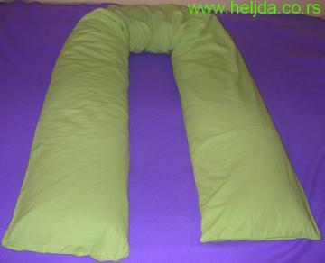 Jastuk za trudnice i bebe od heljde