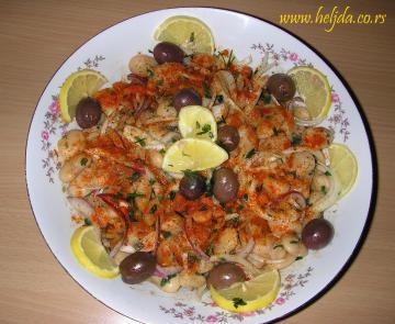 Salata od belog pasulja