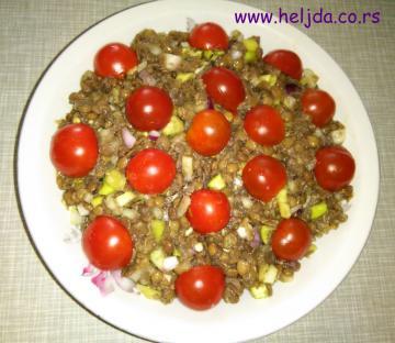 laka salata od sočiva