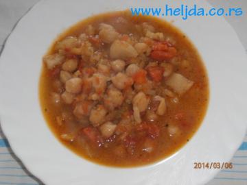 zdravi recepti - leblebija sa povrćem