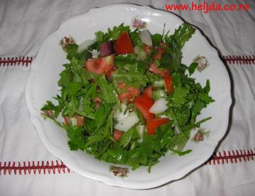 Salata od paradajza sa rukolom